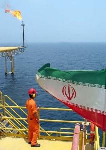Iran offshore oil