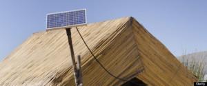 solar panel di Peru