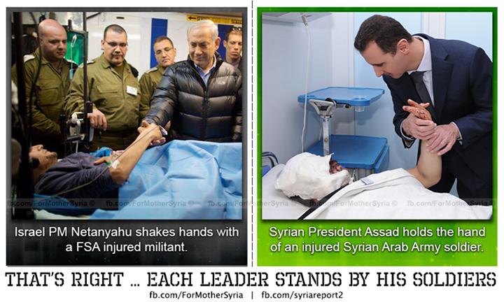 Netanyahu dan Assad