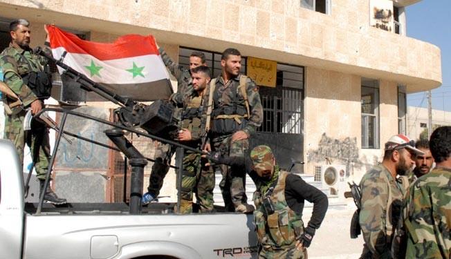 Army kills 'dozens' of militants near Damascus: state TV