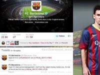 SEA Lumpuhkan Twitter FC Bacelona