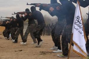 Syria rebel camp
