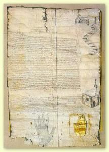 dekrit nabi Muhammad SAW (foto;wikipedia)