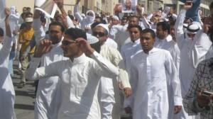 demonstrasi saudi