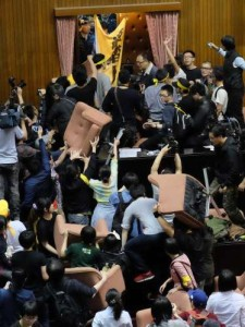 mahasiswa taiwan demo