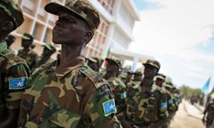 Somalia army in Mogadishu