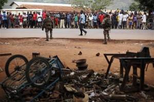 kerusuhan afrika tengah