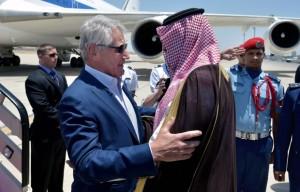 Amerika hagel in saudi