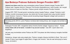 Voa Prabowo
