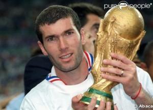 Zinedine Zidane the champions
