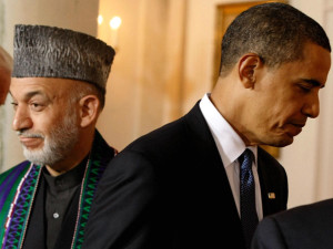 afghanistan obama and karzai