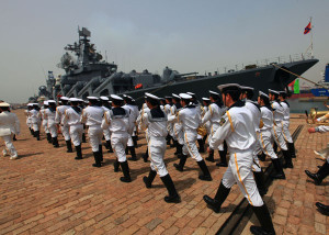 CHINA-RUSSIA-JOINT NAVAL EXERCISE-END (CN)