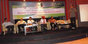 Dr. Haidar Bagir Sedang Berorasi (foto:LiputanIslam.com)
