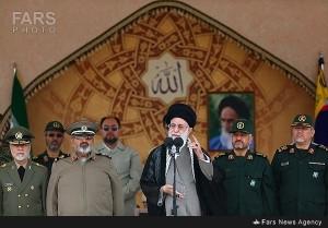 iran khamenei and army