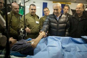 Netanyahu menyalami pemberontak Suriah