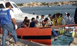 perahu imigran italia