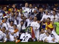 Hempaskan Atletico 4-1, Real Madrid Juara Piala Champions