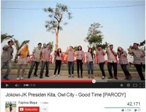 Cuplikan Video Klip