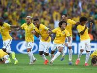 Menang Adu Penalti, Brasil Melangkah ke Delapan Besar