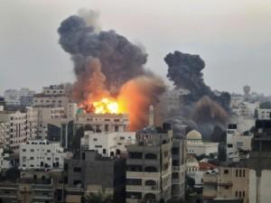 israel serangan udara