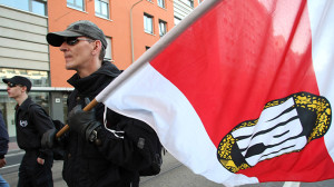 GERMANY-EXTREMISM-ISLAM-NPD-PROTEST