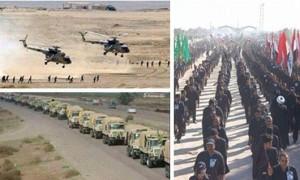 tentara dan pasukan rakyat irak