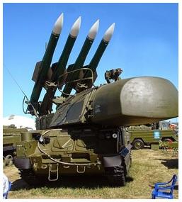 Buk anti-air missile system, rudal yang menjatuhkan pesawat MH17