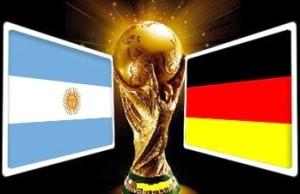 Jerman vs Argentina di Final Piala Dunia 2014