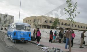 salah satu sudut kampus putri Al Azhar, terlihat mobil Tremco
