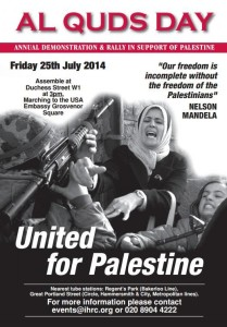foto: http://stopwar.org.uk/events/london-al-quds-day-demonstration-and-rally-in-support-of-palestine#.U9HhhvmSyug