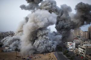 bom israel di gaza city