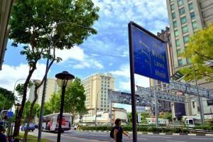 Jalanan Singapura (foto: Farchan Noor Rachman)