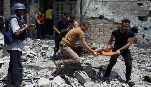 ارتفاع حصيلة عدوان الاحتلال على غزة لاكثرَ من 500 شهيد