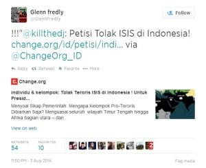 Glenn Tolak ISIS