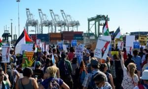 blokir kapal israel