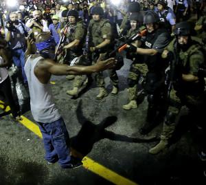 APTOPIX Police Shooting Missouri