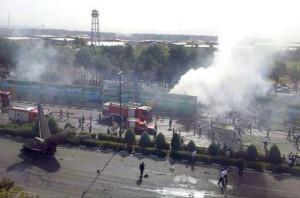 iran plane crashed