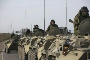 kendaraan  militer rusia
