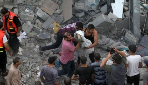 Gaza toll hits 100 as Israel prepares for ground attack