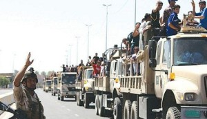 """قوة كبيرة من الحشد الشعبي تتجه لفك الحصار عن """"آمرلي"""" بالعراق"""