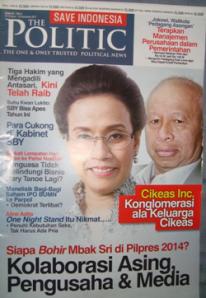 The Politic edisi perdana. Foto: Novan Media