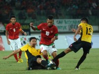 Timnas U-19 Ditahan Malaysia U-21 0-0