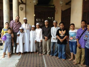 Bersilahturahiim bersama teman-teman, foto: Ahmad