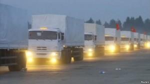 truk bantuan rusia