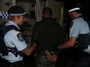 australia arrest