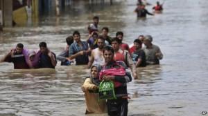 banjir kashmir