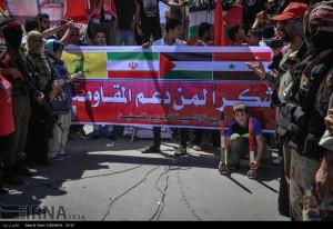 bendera iran cs di gaza2
