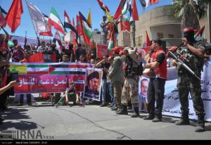 bendera iran cs di gaza4