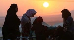 ilustrasi perempuan yazidi