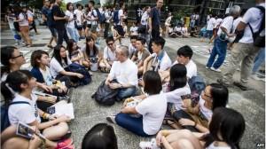 mahasiswa hongkong